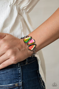 Raw Radiance Paparazzi Bracelet-Multi