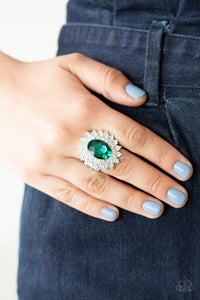 Secret Garden Glow Paparazzi Rings-Green