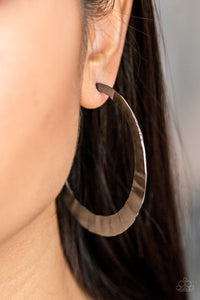 Slayers Gonna Slay Paparazzi Earrings-Black
