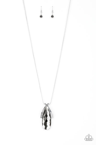 Stellar Sophistication Paparazzi Necklace-Silver