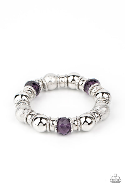 Take Your Best Shot Paparazzi Bracelet-Purple