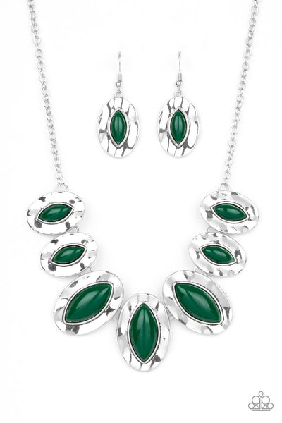 Terra Color Paparazzi Necklace-Green