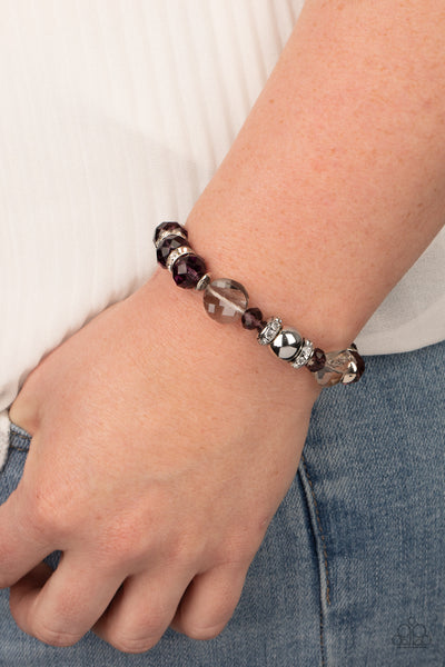 Treat Yourself Paparazzi Bracelet-Purple