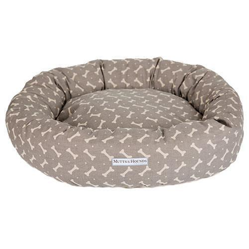 Mushroom Bone Donut Dog Bed - Mutts & hounds