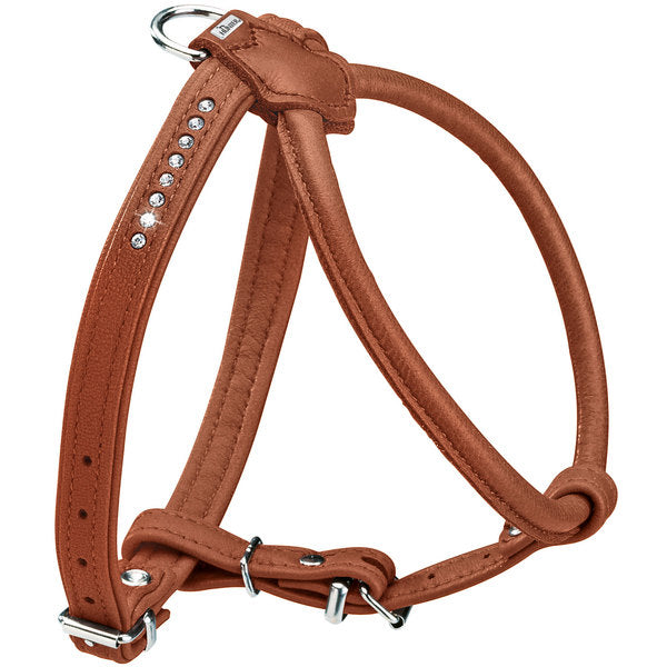 Harness Round & Soft Luxus Elk - Hunter