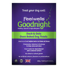 Feelwells Benefits Goodnight Dog Treats