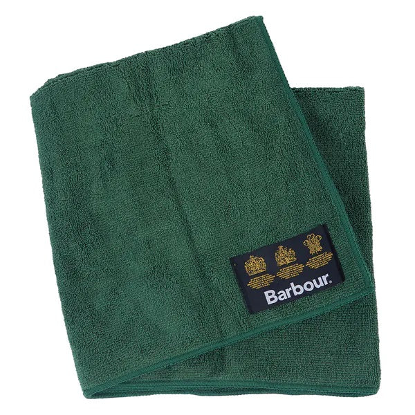 Micro Fibre Grooming Dog Towel - Barbour