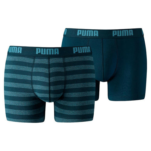 Pack of 2 cotton stretch boxer shorts  (PU-4558)