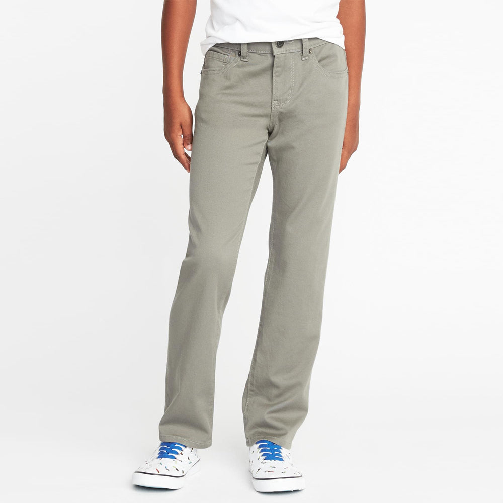 Built-In Flex Stretch Slim Fit Chino for Boys (ON-11549)