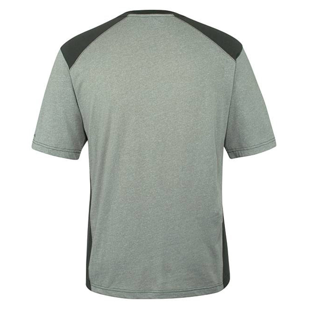 Wolvrn peat heather edge t-shirt with moisture wicking technology  (WO-2337)