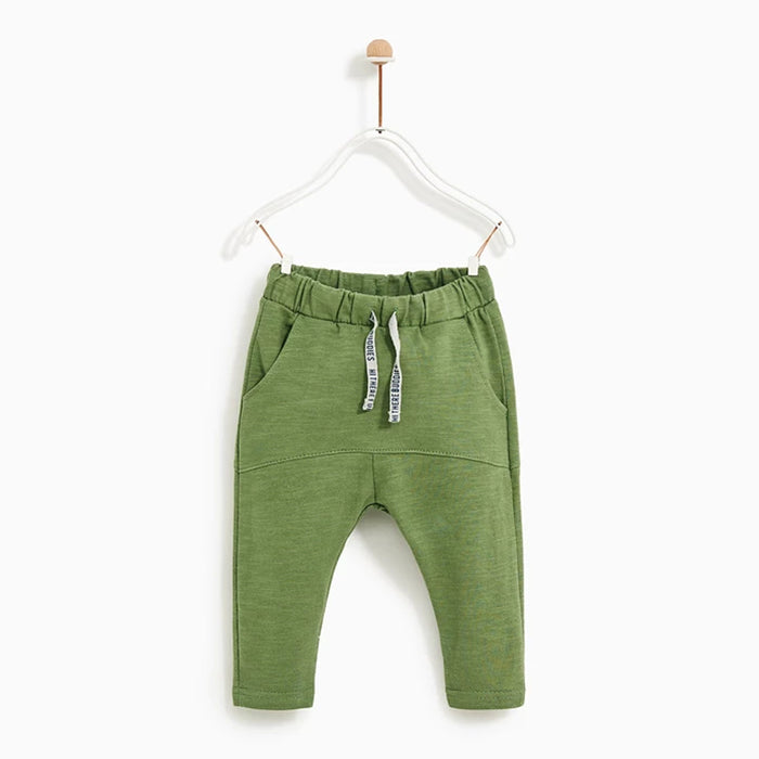 ZR kids slub Yarn Cotton  Stretch Trousers (ZA-1247)