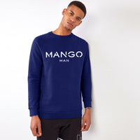Men Royal Signature Graphic Fleece Sweatshirt (MA-10457)