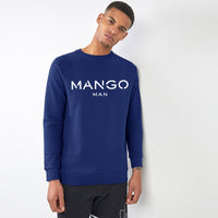Men Royal Signature Graphic Fleece Sweatshirt (MA-10433)