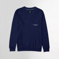 Men Royal  Logo Printed Fleece Sweatshirt  (US-11122)