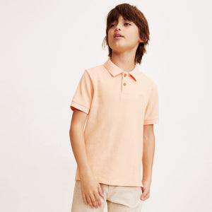 MNGO Boys Cotton polo With lest Chest Tonal Embroidery (MA-737)