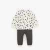 ZR DOTTED WITH PIANO PRINT SWEATSHIRT (ZA-1666)