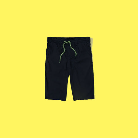 RE Boys Deep Navy Pure weaved cotton poplin Rugby shorts  (RE-5139)