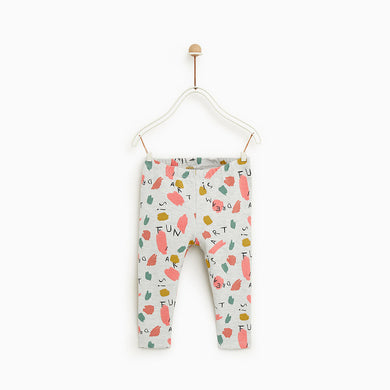 ZR kids All over printed Stretch Trousers (ZA-1249)