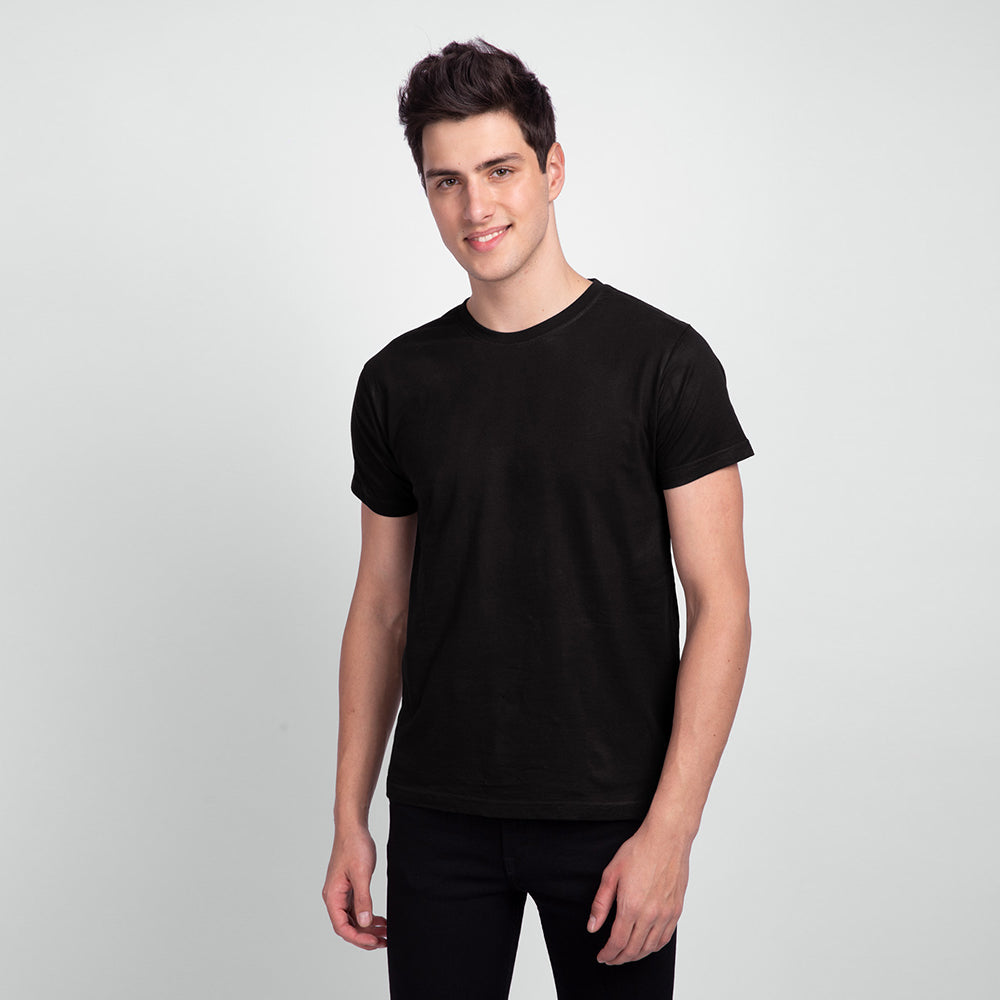 Men Crew neck Short sleeve basic T-Shirt