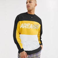 CHPTR Block Stripe Graphic Sweatshirt (CH-1423)