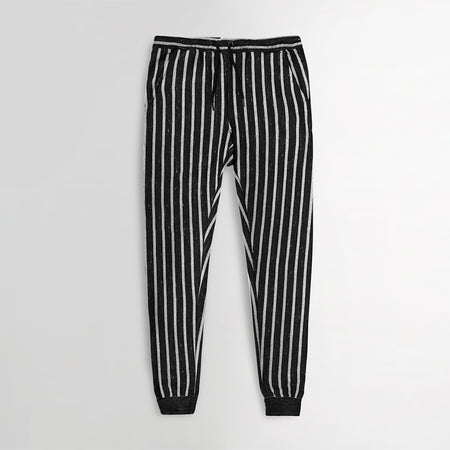 Holstr Dyed Yarn Marl vertical Striped close bottom Trousers (HO-10125)