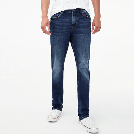 Aero Slim Fit vintage wash dark jeans (AR-2369)