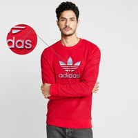 Men Crew Neck Thermal Sweatshirt with 3D Embossed Logo (AD-11144)