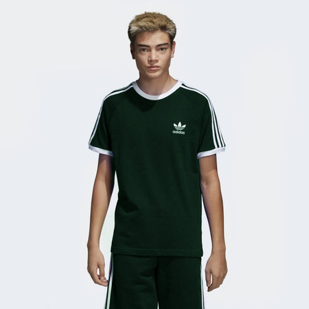 Green ORIGINALS 3-STRIPES LOGO TEE  (AD-722)