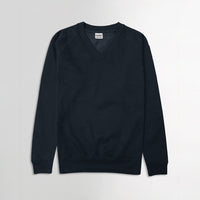 Men basic V-Neck Premium Quality Fleece Sweatshirt