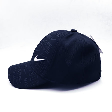 Ni-Ke monogram weaved and 3d Embroidery baseball Cap (NI-4729)