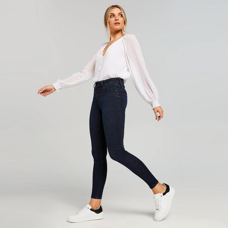 Women Carrie High Waisted Skinny Jeans (GD-10003)