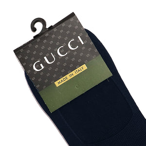 Jacquard Tri-Striped No Show Socks (GU-1415)