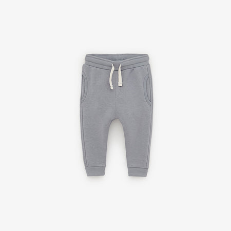 ZR KIDS EXCLUSIVE Grey 'SLIM FIT' JOGGER PANT (ZA-1731)