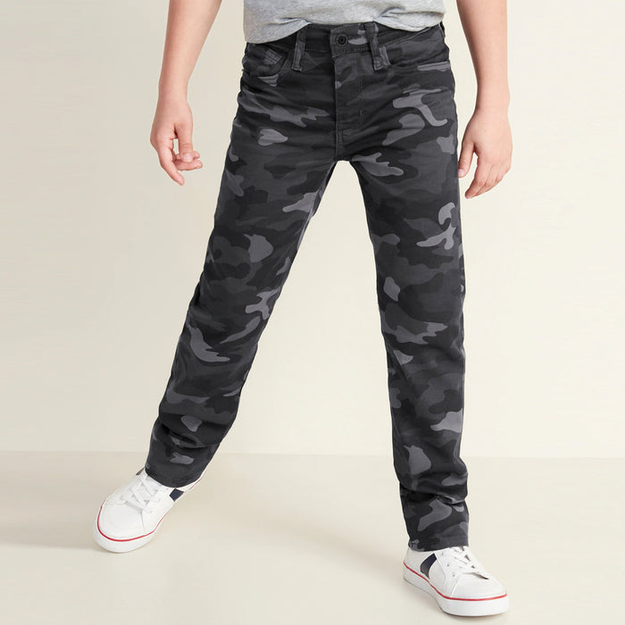 Five Pocket Premium Quality Camouflage Pant For Boys (ON-11605)