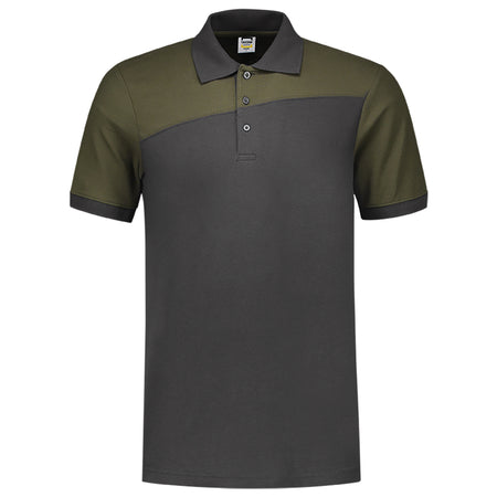 TRP MEN'S CONTRAST PIQUE POLO SHIRT (TI-2982)