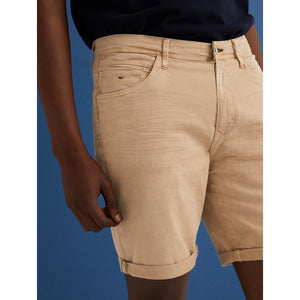 SF-camel clear 'slim fit' stretch Bermuda short (SF-649)