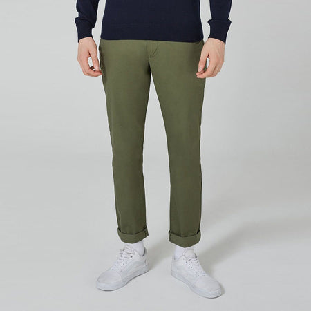 TM Men Slim Straight Stretch Cotton Chino (TM-1518)