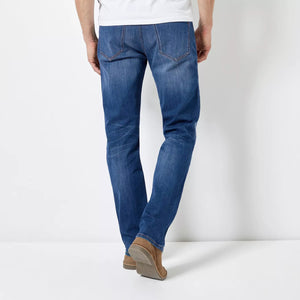 Alaska Straight Fit Stretch Jeans  (BU-814)