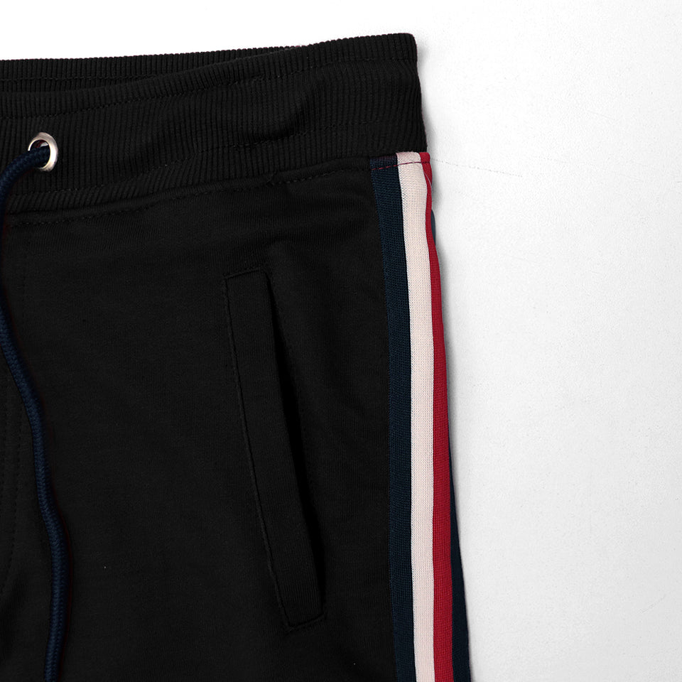 MEN SIGNATURE TAPE & LOGO EMBROIDERED JOGGERS (TO-10344)
