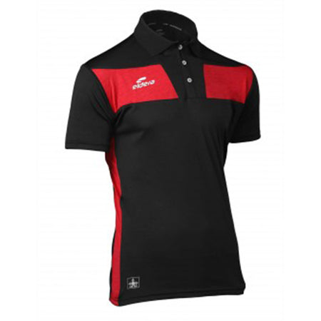 ELDRA Black Moisture Wicking Sports Polo Shirt (EL-2363)