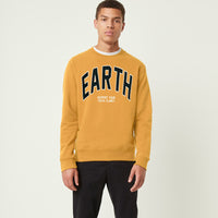 "LFT Men ""EARTH"" Graphic Fleece Sweat shirt  (LM-10160)"