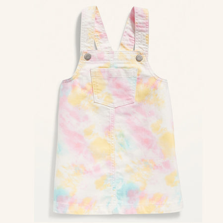 Premium Quality Multi Tie-Dye Jean Top For Girls (ON-11550)