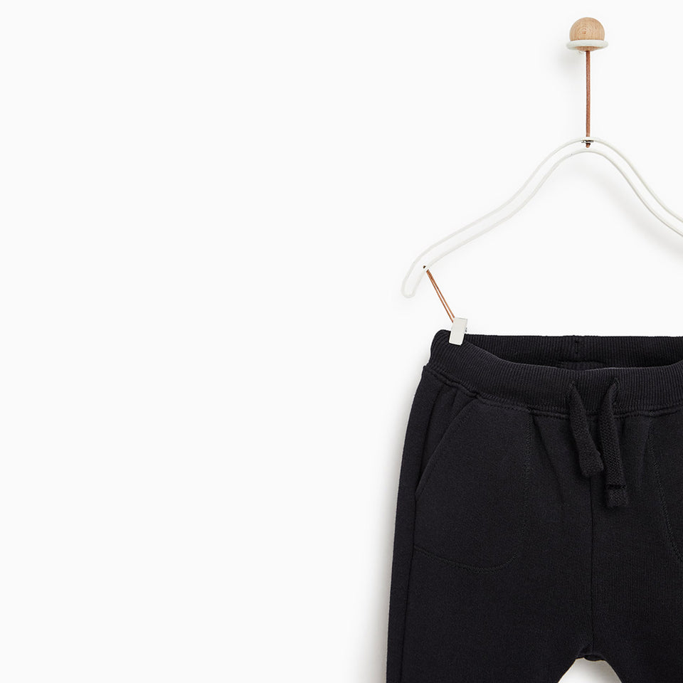 ZR Cotto Draw Cord Close bottom Joggers (ZA-1598)