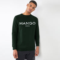 Men Graphic Fleece Sweatshirt (MO-11319)