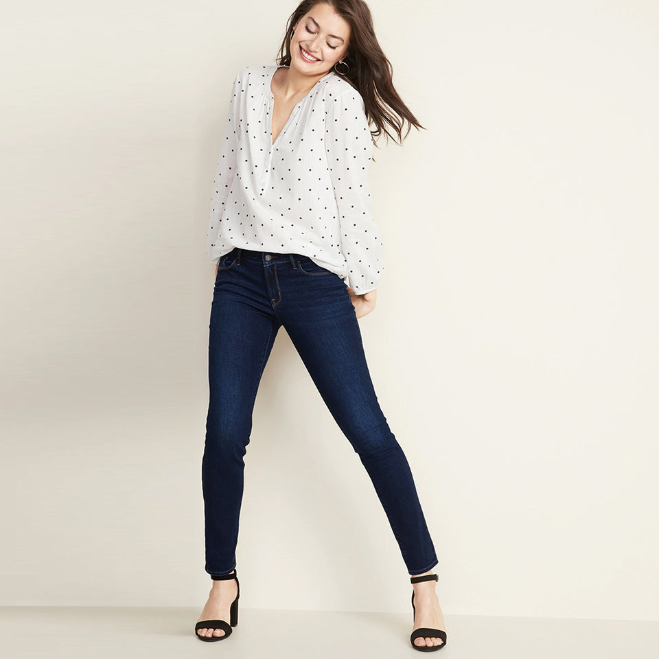 Pipr Magic Shaping High Waisted Skinny Jeans (PR-10007)