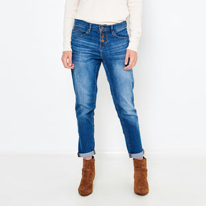 MO Super Stretch Boyfit Denim (MO-1230)