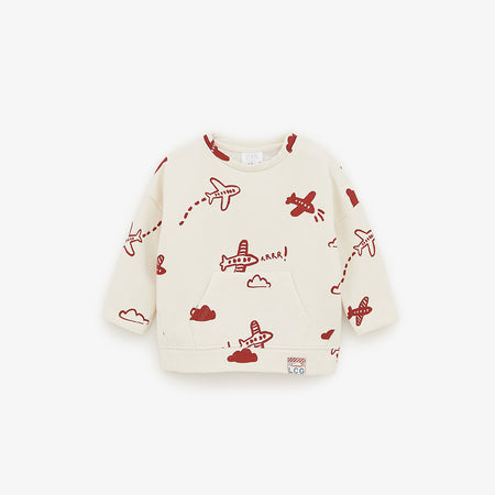 ZR Kids Fun Travel Graphic Sweatshirt (ZA-1784)
