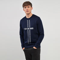 Holster Stay on Track Graphic Sweat Shirt (HO-1477)