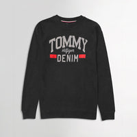 Men Pique Stretch Terry Logo Sweatshirt (TO-10466)