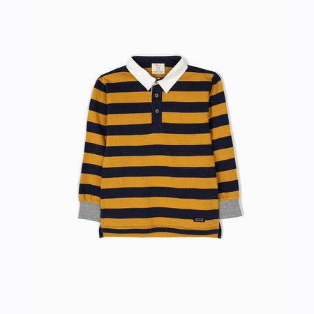 ZY Pure Cotton Striped Rugby Top (ZY-1450)